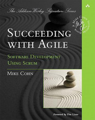 Book cover -- Succeeding with Agile